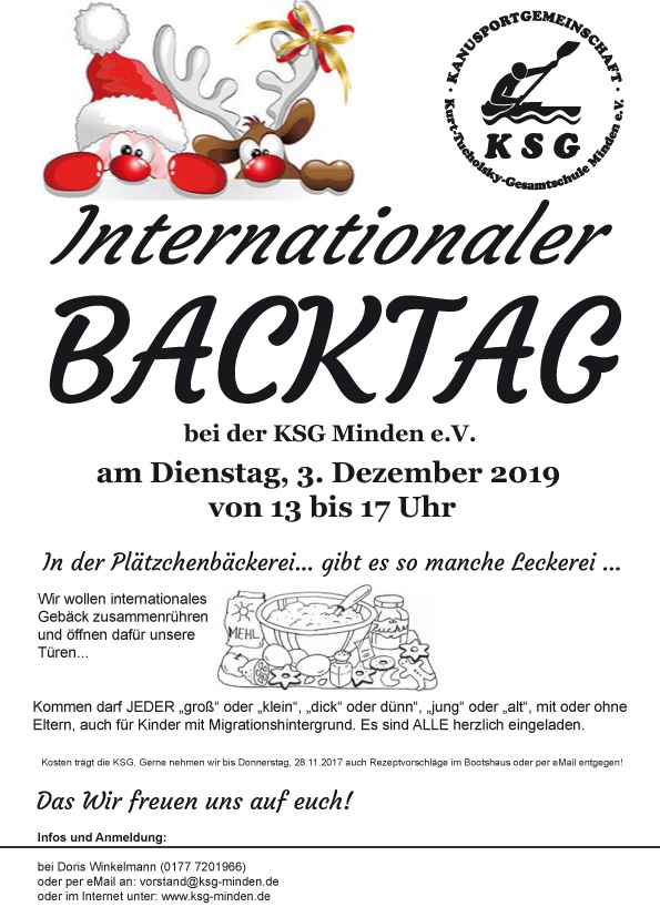 Internationaler Backtag 2019